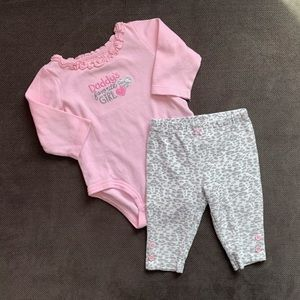 Girls 6 month Carter's outfit.
